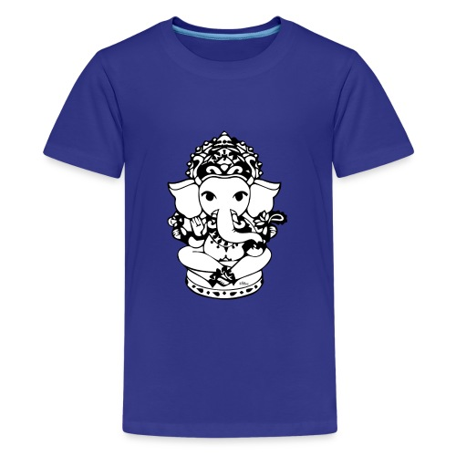 Wee Ganesh - Teenage Premium T-Shirt