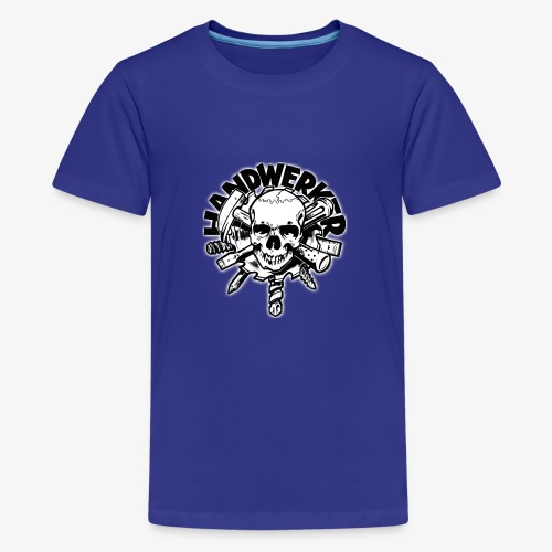 Skull ´n´ Tools - Teenager Premium T-Shirt