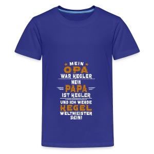 OPA PAPA kegeln - Teenager Premium T-Shirt