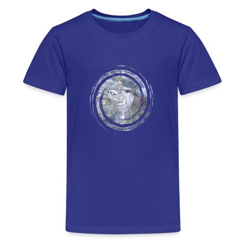Kristall Spirale - Teenager Premium T-Shirt