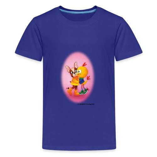 Hanni und Wauzi - Teenager Premium T-Shirt