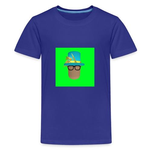 MrWhatWhat Logo Merch - Teenage Premium T-Shirt