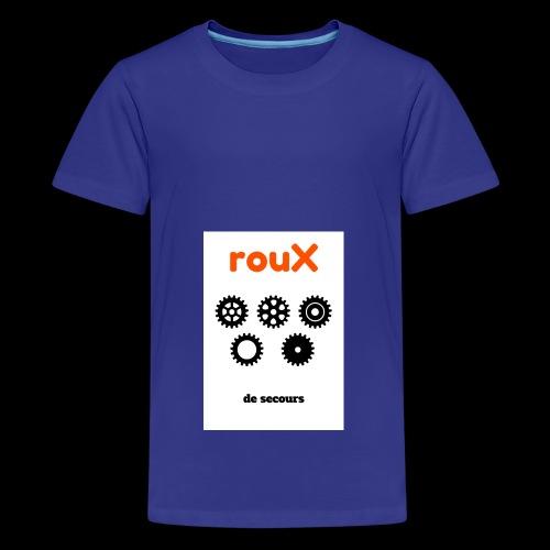Roux 1 - T-shirt Premium Ado