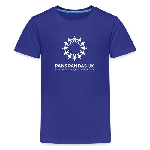 PANS PANDAS MULTI LOGO - Teenage Premium T-Shirt