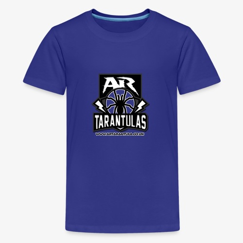 BW AR Tarantula logo - Teenage Premium T-Shirt