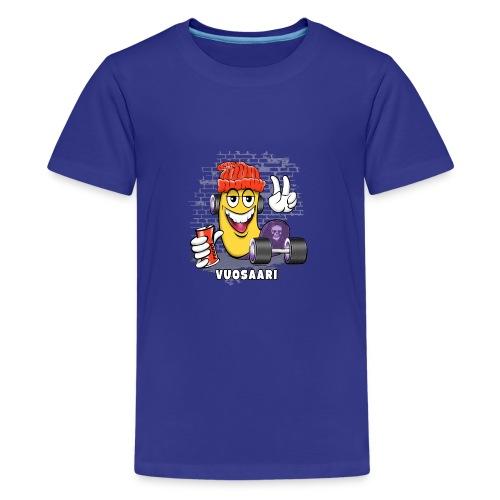 VUOSAARI SKATE 1 - Skateboard Helsinki - Teinien premium t-paita
