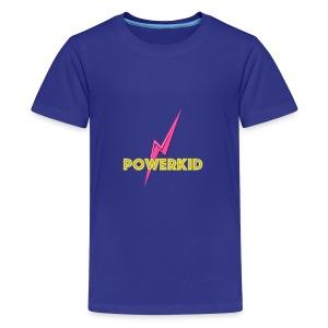 powerkid logo - Teenager Premium T-shirt