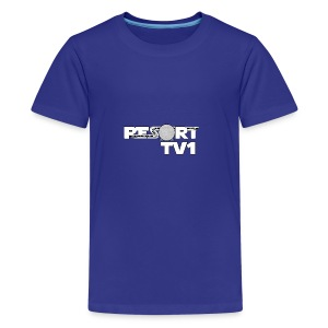 ResortTV1 Logo - Teenage Premium T-Shirt