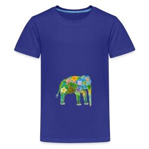 Asiatischer Elefant - Teenager Premium T-Shirt