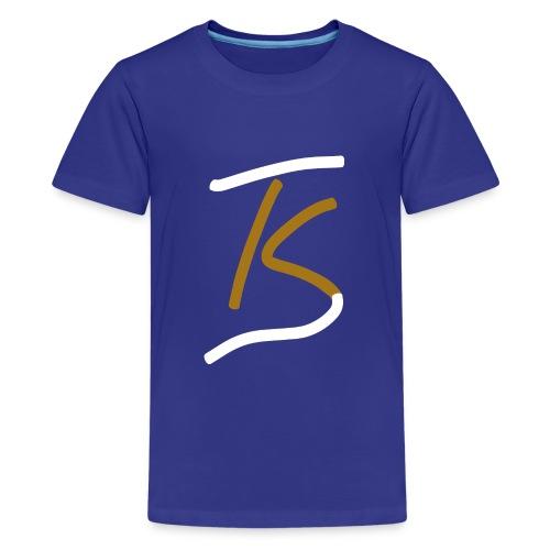 tanstudio kunauer ohne Text Weiss - Teenager Premium T-Shirt