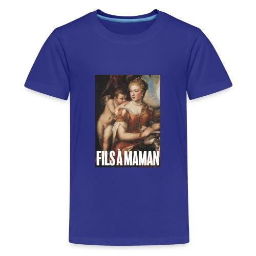 Fils à maman - T-shirt Premium Ado