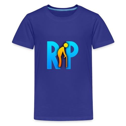 R.I.P. Logo - Teenager Premium T-Shirt
