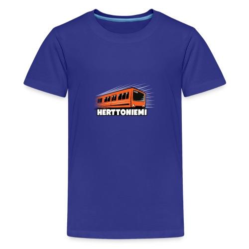 09-HERTTONIEMI METRO - Itä-Helsinki - Teinien premium t-paita