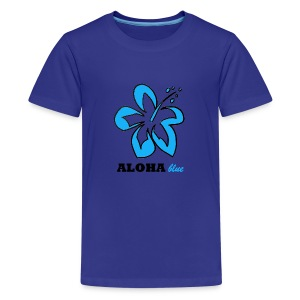 Hi Flower - Teenager Premium T-Shirt