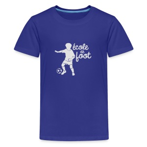 Ecole de Football - T-shirt Premium Ado