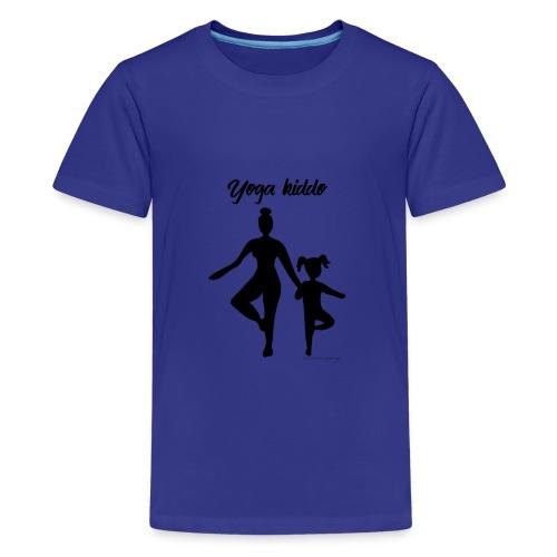 Yoga kiddo (en duo avec Yoga mama) - T-shirt Premium Ado