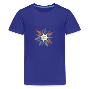 slim leaves - Teenage Premium T-Shirt