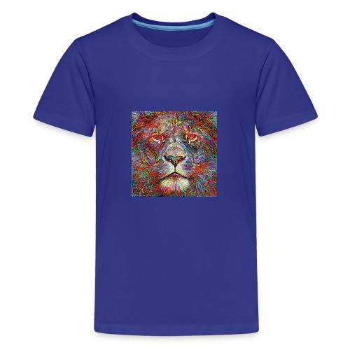 Deep Lion MaxColor CMJN08 - T-shirt Premium Ado