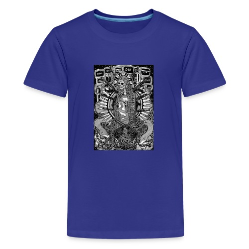 Santa Muerte - Premium-T-shirt tonåring