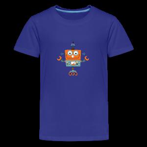 ROBOT 01 - Teenage Premium T-Shirt
