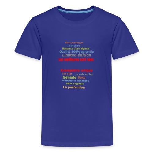 t shirt les meilleures sont nées sweat shirt mugs - T-shirt Premium Ado