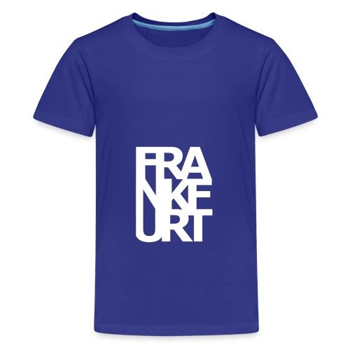 Frankfurt - Teenager Premium T-Shirt