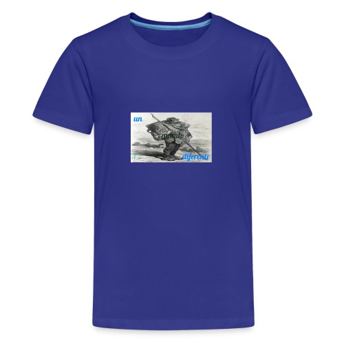 el caminante - Camiseta premium adolescente