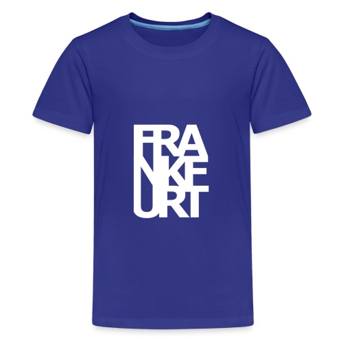 Frankfurt - Teenager Premium T-Shirt