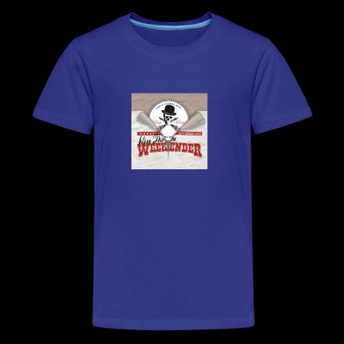 Weekender vs MofoMusic - Teenager Premium T-Shirt