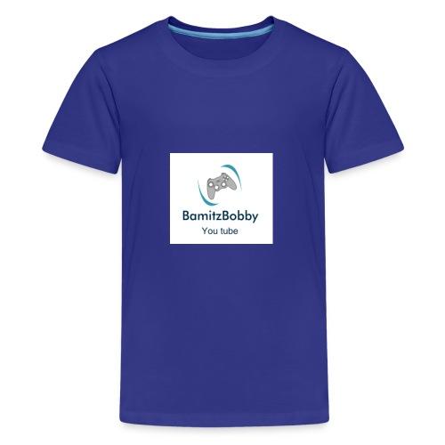 BamitzBobbyMerch - Teenage Premium T-Shirt