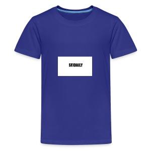 sandefjordaily - Premium T-skjorte for tenåringer