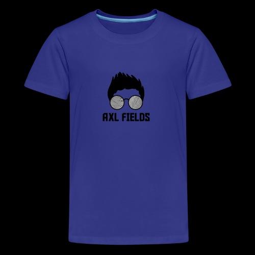 Axl Fields - Camiseta premium adolescente