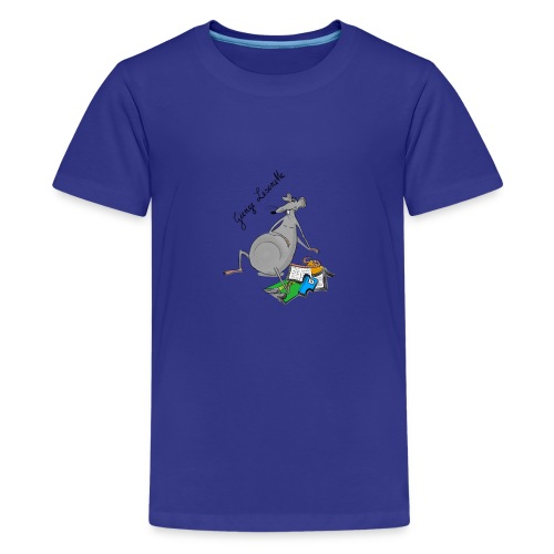 Leseratte © by Eve - Teenager Premium T-Shirt