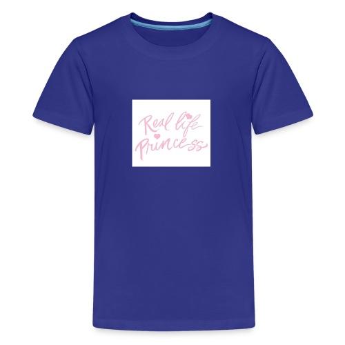 princess - Queen - Teenage Premium T-Shirt