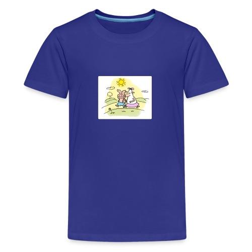 Sunny Fanny - Teenager Premium T-Shirt
