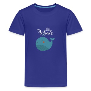 Blauwal | Oh Whale - Teenager Premium T-Shirt