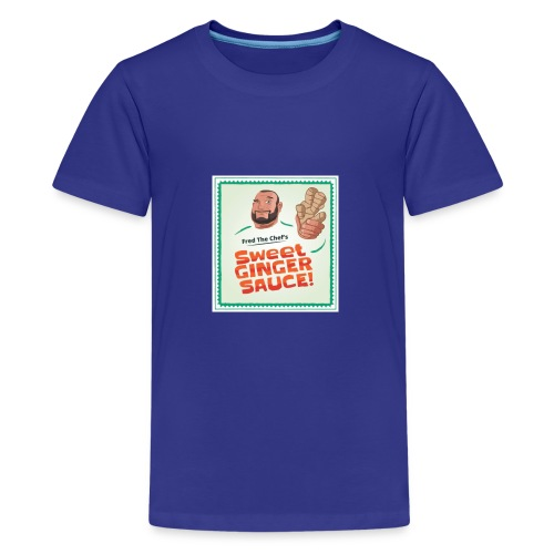 Fred The Chef's Sweet Ginger Sauce - Premium T-skjorte for tenåringer