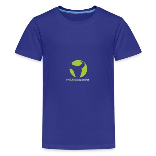 Wir ROCKEN das Internet - Teenager Premium T-Shirt