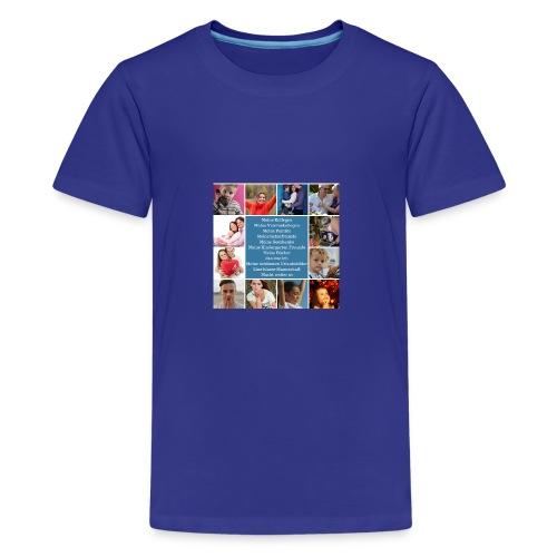 Motiv 4 Design Bild verändern siehe unten - Teenager Premium T-Shirt