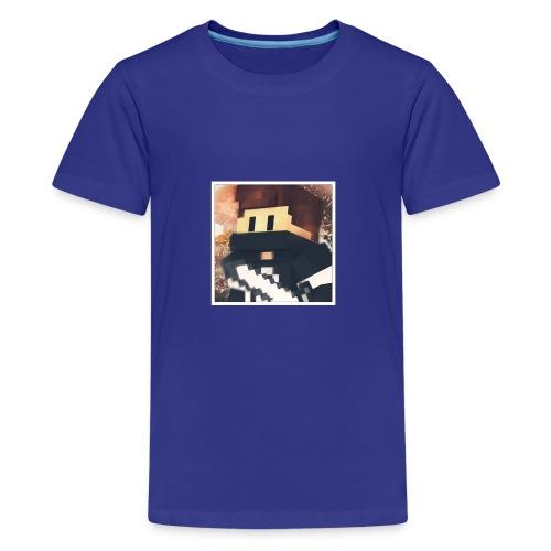 Minecraft logo - Teenager Premium T-Shirt