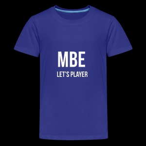 MBE-Let's Player Männer T-Shirt - Teenager Premium T-Shirt