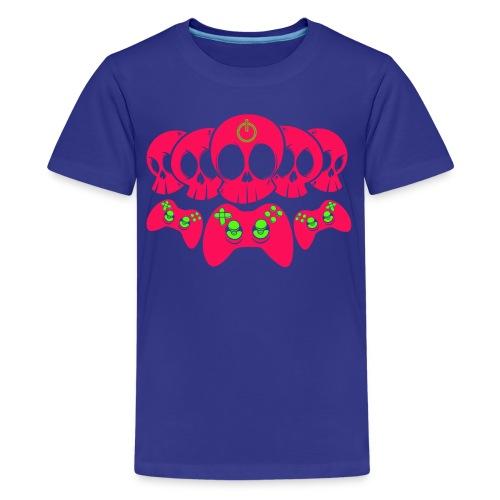 Controller Totenköpfe - Teenager Premium T-Shirt