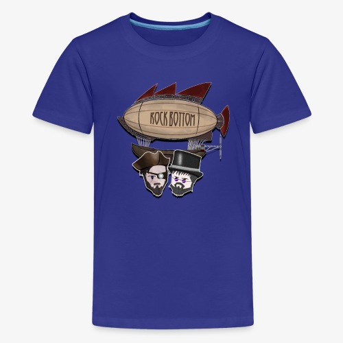 Blimp with Passengers - Teenager premium T-shirt
