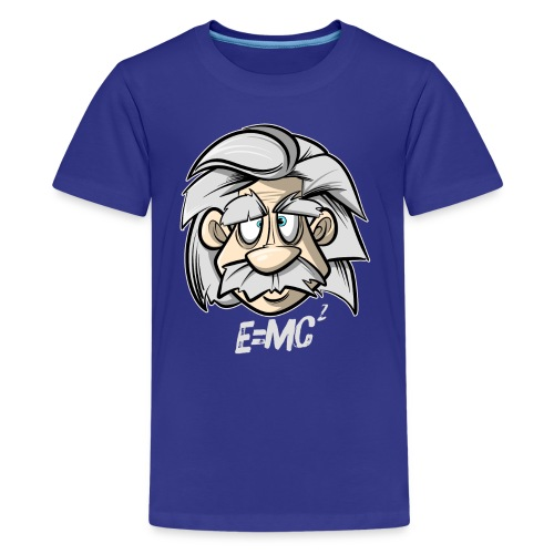 Albert Einstein E=MC2 - Teenager Premium T-Shirt
