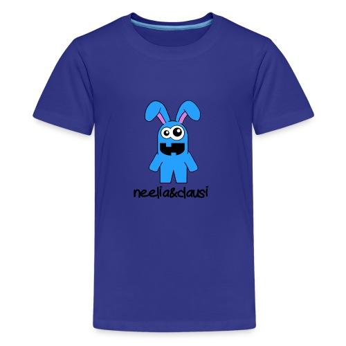 neelia und clausi Logo - Teenager Premium T-Shirt