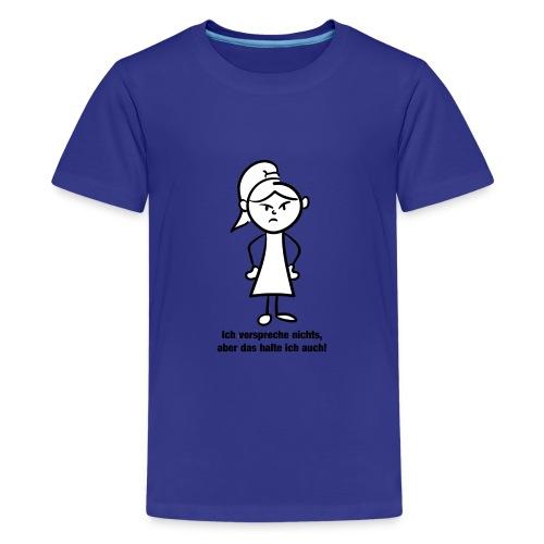 Ich verspreche - Teenager Premium T-Shirt
