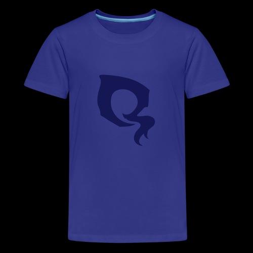 ᐚ ᗕ ᔹ ᖼ ᐻ Ż ____Logo by 5YN7H - T-shirt Premium Ado