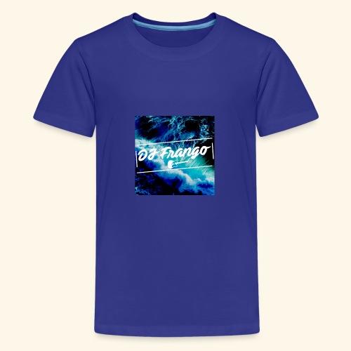 DJ Frango Updated Logo - Teenage Premium T-Shirt