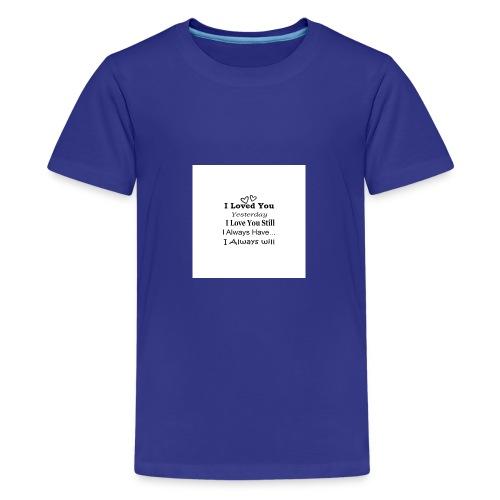 CITAT LOVE - Teenager premium T-shirt