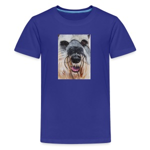 schnauzer - Teenager premium T-shirt